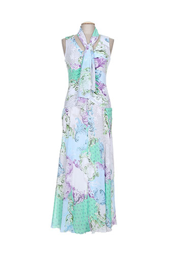 georgedé robes femme de couleur vert
