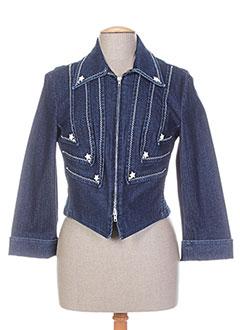 Veste chic / Blazer bleu AQUAJEANS pour femme