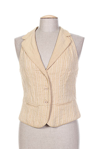 Veste chic / Blazer beige INFINITIF pour femme