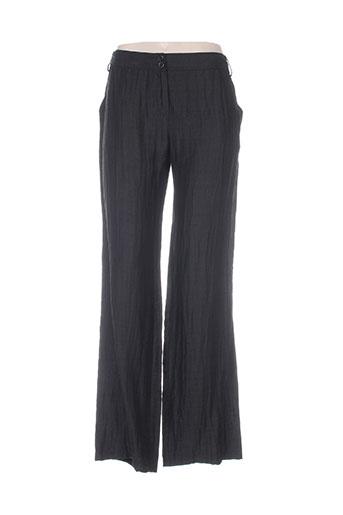 mariella rosati pantalons femme de couleur noir
