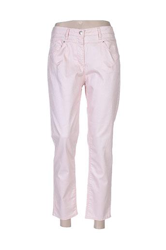 rose electron pantalons femme de couleur rose