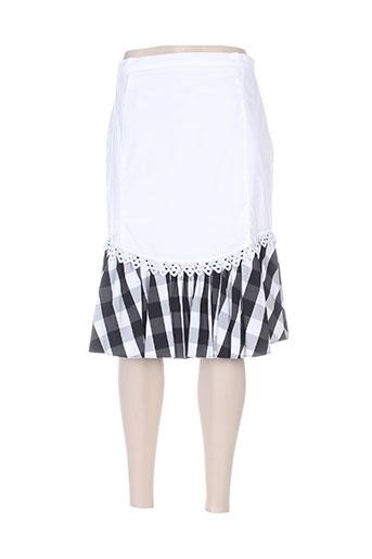 aqua jupes femme de couleur blanc