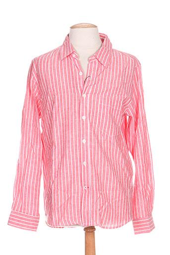esprit de la mer chemises femme de couleur rose