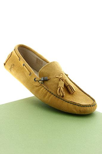 vicomte arthur chaussures homme de couleur jaune