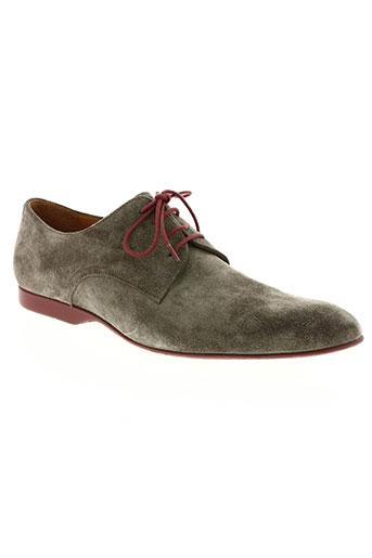 pellet chaussures homme de couleur beige