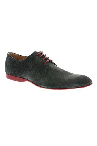 pellet chaussures homme de couleur bleu