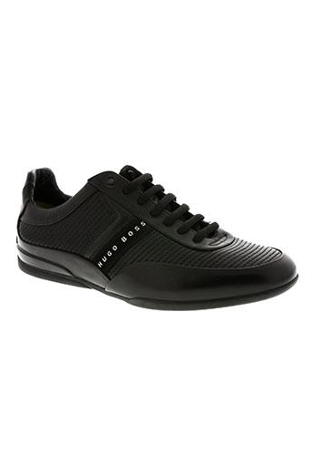 hugo boss chaussures homme de couleur noir
