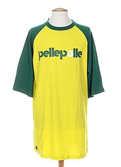 Produit-T-shirts / Tops-Homme-PELLE PELLE