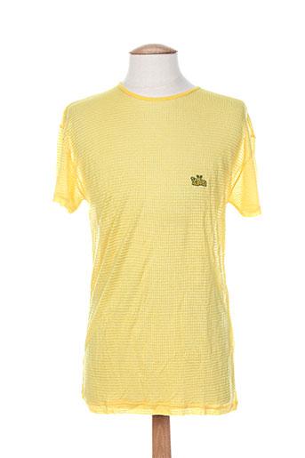 lemon EFFI_CHAR_1 soda t-shirts homme de couleur jaune
