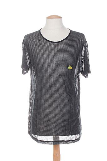 T-shirt manches courtes noir LEMON & SODA pour homme