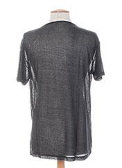 T-shirt manches courtes noir LEMON & SODA pour homme seconde vue