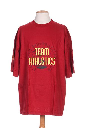 campri t-shirts homme de couleur rouge