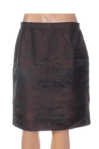 nathalie chaize jupes femme de couleur marron