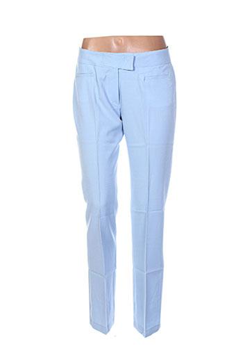 Pantalon chic bleu BF & L pour femme