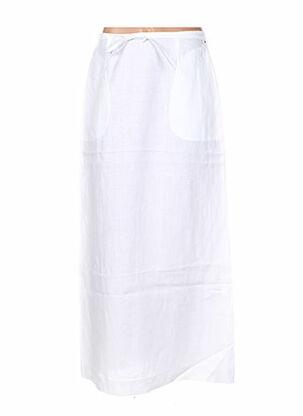 Jupe longue blanc ERNEST LE GAMIN pour femme