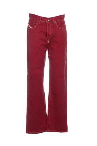 cheyenne pantalons femme de couleur rouge