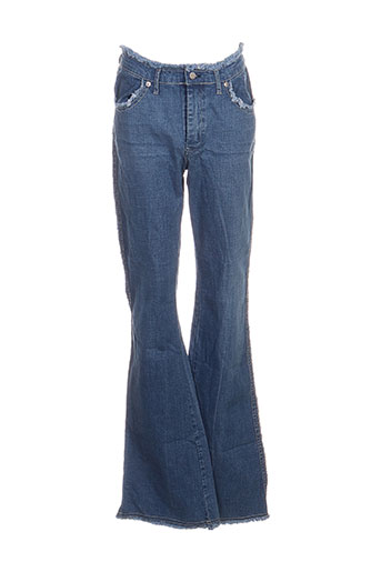 school rag jeans femme de couleur bleu