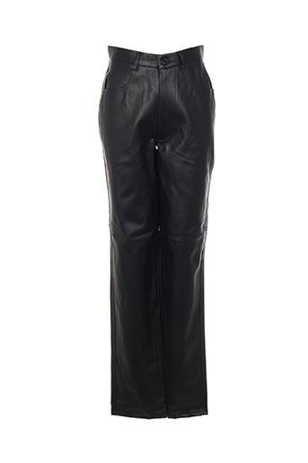 philippe adec pantalons femme de couleur noir
