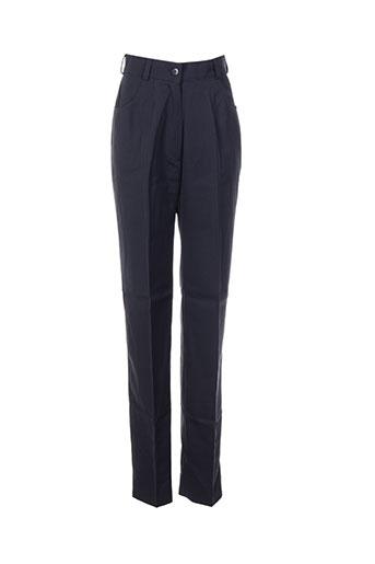 Pantalon casual gris ANNE ELISABETH pour femme