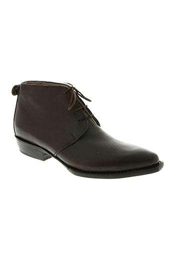 calamex chaussures femme de couleur marron