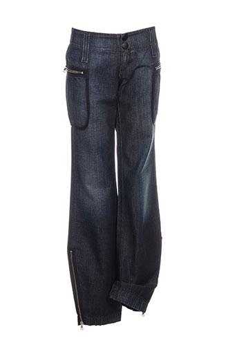 miss sixty jeans femme de couleur bleu