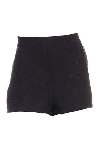 molly bracken shorts / bermudas femme de couleur noir