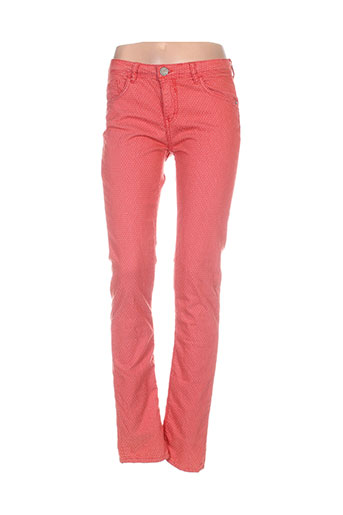 chipie pantalons femme de couleur orange