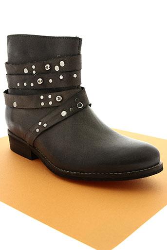 la fee maraboutee chaussures femme de couleur gris