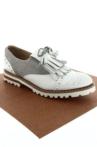 one step chaussures femme de couleur blanc