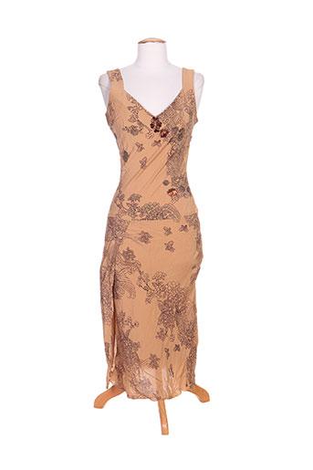 bray robes femme de couleur marron
