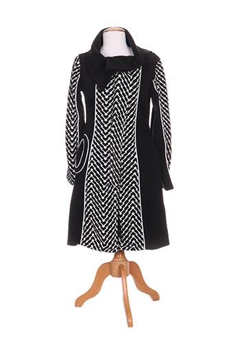 bamboo's manteaux femme de couleur noir