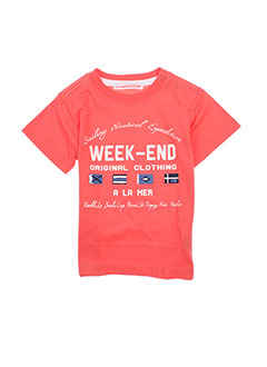 Produit-T-shirts-Enfant-WEEK END A LA MER