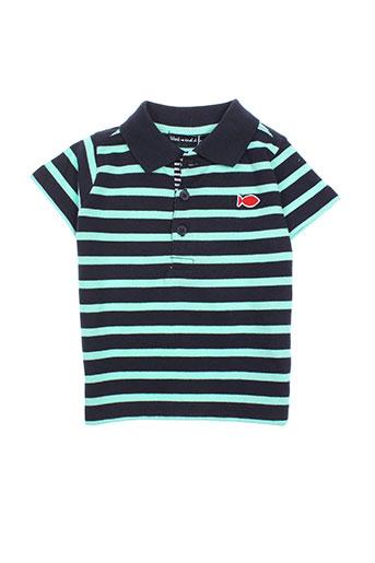 week end a la mer t-shirts garçon de couleur bleu