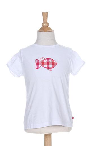 week end a la mer t-shirts fille de couleur blanc