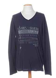 Produit-T-shirts / Tops-Homme-GUESS