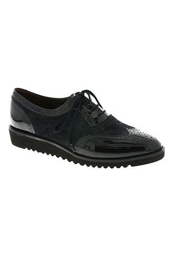 fidji chaussures femme de couleur bleu