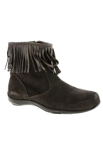 reqins chaussures fille de couleur gris