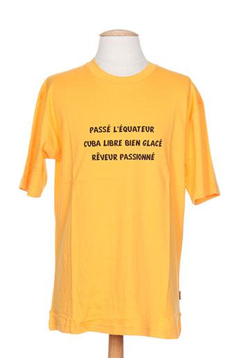 poetik t-shirts / tops homme de couleur orange