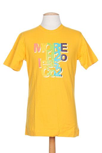 ideo t-shirts / tops homme de couleur jaune