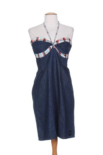 kana beach robes femme de couleur bleu
