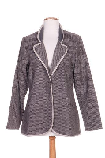 ethos vestes femme de couleur gris