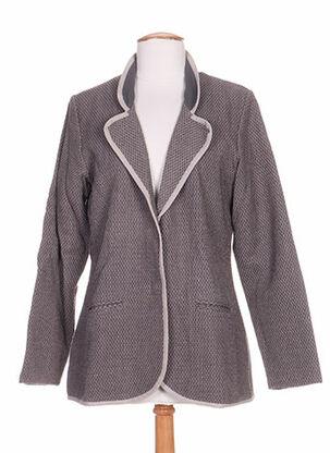 Veste chic / Blazer gris ETHOS pour femme