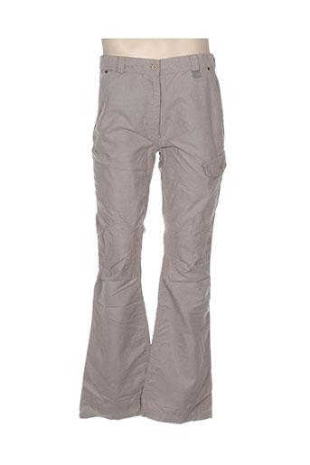 lafuma pantalons femme de couleur beige
