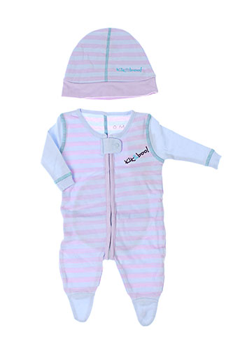 Pyjama violet KIK&BOO pour enfant