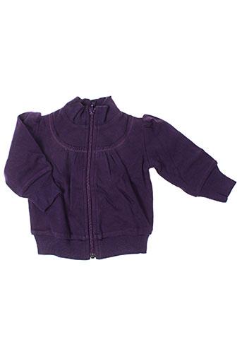 Veste casual violet IDEO pour fille