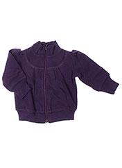 Veste casual violet IDEO pour fille seconde vue
