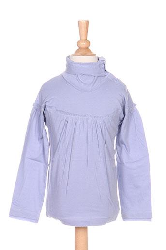 T-shirt manches longues violet IDEO pour fille
