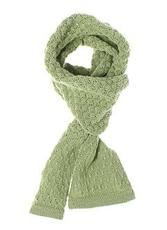 Echarpe vert IDEO pour fille