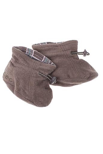 ideo chaussures enfant de couleur marron