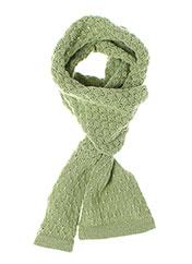 Echarpe vert IDEO pour fille seconde vue